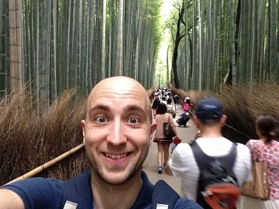 japón bosque bambú